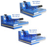 Heat Press Machines - Brildor Economic - Manual - Different plate sizes