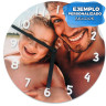 Sublimation Clock - MDF - 29cm - Personalised example