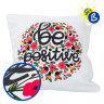 3D Puff Heat Transfer Vinyl - 25cm x 1m roll - Personalisation example