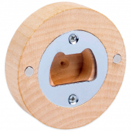 Magnetic Bottle Opener - Wood