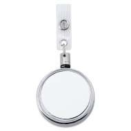 Accessoire porte-clés pour sublimation avec cordon extensible