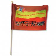 Banderín de mano - Mundial