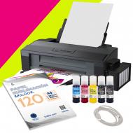 Impresora de sublimación A3 Epson ET-14000 Flúor - Pack ahorro