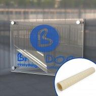 Transfer Tape for sign vinyl - Plastic carrier & protective liner