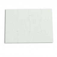 Puzzle de cartón para sublimación de 12 piezas - Puzzle