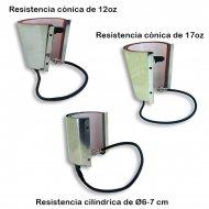 Resistencias de calor para planchas Combo Serie C.1 y C.2