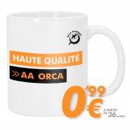 Mug sublimable - Haute qualité AA ORCA