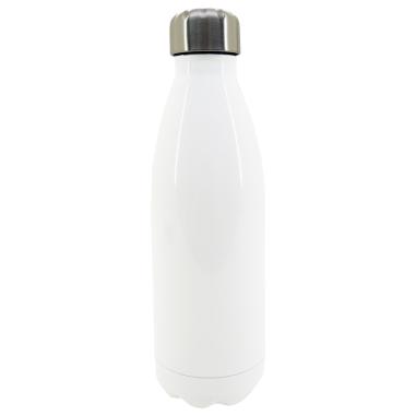 Bouteille thermos pour sublimation - 500 ml - Acier inoxydable - Blanc