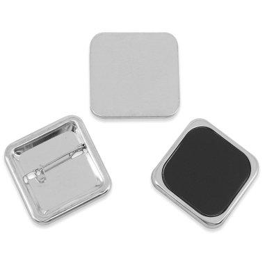 Badges carrés - 37 x 37 mm