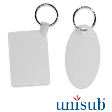 Porte-clés pour sublimation - Aluminium