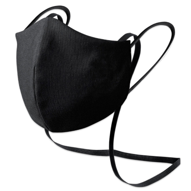 Masque de protection réutilisable avec lanyard - 3D - Traitement antiviral et antibactérien