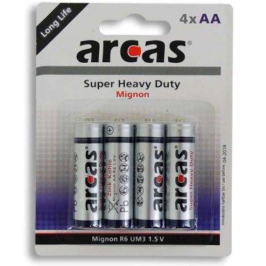 Piles AA - R6/1,5 V - Lot de 4 unités