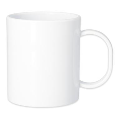 Mug sublimable - Polymère - Blanc