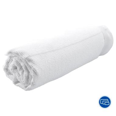 Serviettes de bain pour sublimation - Tissu éponge - Blanc