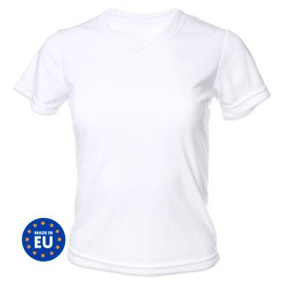 T-shirt pour sublimation - Femme - 190g - Toucher coton