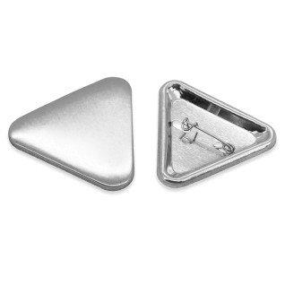 Badges triangulaires - 40 x 40 x 40 mm