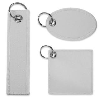 Porte-clés pour sublimation - Tissu