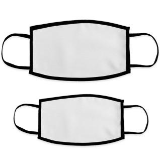 Masques de protection pour sublimation - Double épaisseur - Blanc
