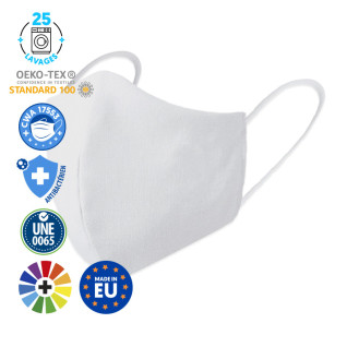 Masques de protection pour femmes - 3D - De couleurs