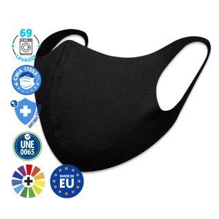 Masques de protection réutilisables de couleurs foncées - Softshell