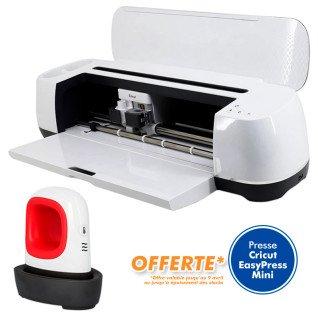Cricut Maker - Machine de découpe - Presse Cricut EasyPress Mini offerte