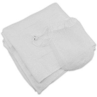 Serviette de sport pour sublimation en microfibre avec sac filet