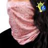 Tour de cou pour sublimation avec tissu antibactérien - Exemple d'utilisation