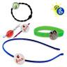 Badges ronds - Ø25mm - Badges personnalisés - Modèles : élastique à cheveux, bracelet, épingle à cheveux et serre-tête