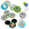 Badges ronds - Ø 58 mm - Personnalisés
