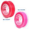 Filaments flexibles TPU aromatisés pour imprimante 3D - Fraise et Chewing-gum