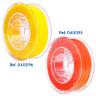 Filaments flexibles TPU aromatisés pour imprimante 3D - Citron doux et Pêche