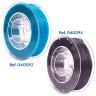 Filaments flexibles TPU aromatisés pour imprimante 3D - Menthe fraîche et Réglisse