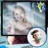 Feuille plastique transparente de 0,3mm d'épaisseur - Exemple de dispositif de protection