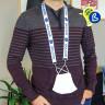 Tour de cou porte-masque pour sublimation - Lanyard - Exemple de personnalisation et utilisation