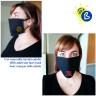 Masques de protection - Double épaisseur - Noir - Exemple de personnalisation et utilisation