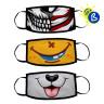 Masques de protection pour sublimation - Exemple de personnalisation