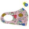 Masques de protection pour sublimation - Softshell - Enfant - Exemple de personnalisation