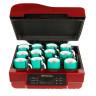 Four 3D pour sublimation - Exemple d'utilisation avec mugs et systèmes de tension
