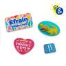 Matrices avec badges - Formes spéciales - Exemples personnalisés