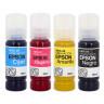 Encre de sublimation en bouteilles - Epson 90ml - Couleurs CMJN