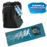 Serviette de sport pour sublimation - Tissu rafraichissant - Exemple de personnalisation