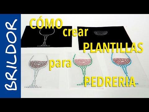 ¿Cómo crear plantillas de pedrería con plotter de corte?