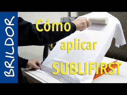 Cómo aplicar el recubrimiento para sublimar algodón