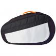 Sublimation Padel Racket Bag - Grey/Orange