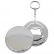 Bottle Opener Keyring Badges - Ø44mm - Bag of 20 units