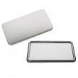 Badges rectangulaires miroir - 50 x 90 mm - Sac de 10 unités