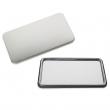 Badges rectangulaires miroir - 50 x 90 mm - Sac de 100 unités