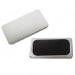 Badges rectangulaires aimantés - 50 x 90 mm - Sac de 100 unités
