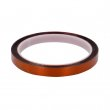Ruban adhésif haute température - Ambre - Rouleau de 10mm x 30m