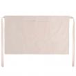 Tablier de serveur pour sublimation en tissu aspect lin